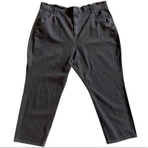 NWOT | AEO | High Waisted Pleated Waist Mom Jeans Size 24